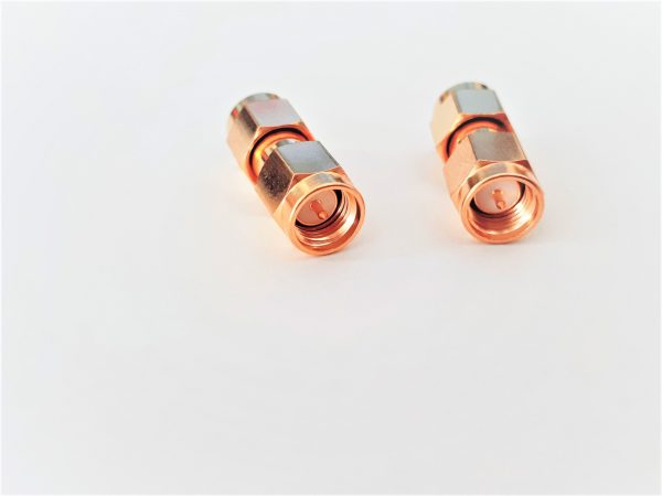 SMA Male to SMA Male adapter