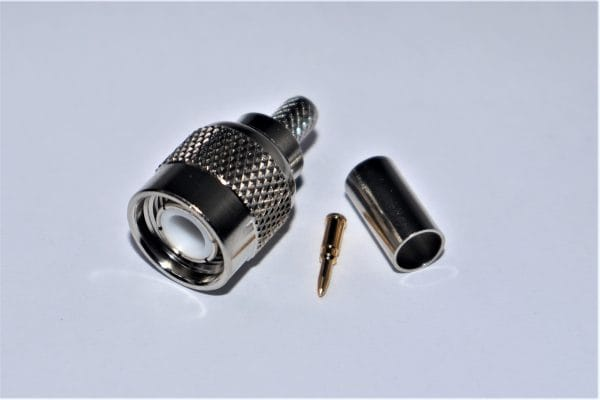 TNC Male (Plug) for RG58, LMR195