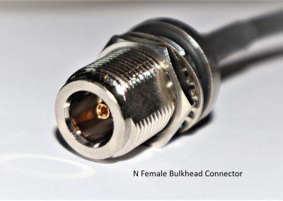N Female Bulkhead