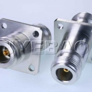 N jack to N jack with 4-hole flange 11GHz VSWR1.2