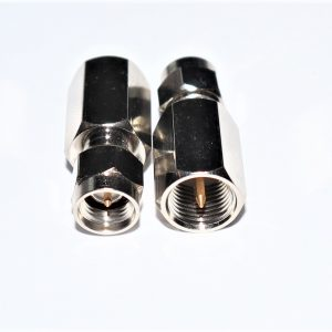 Right Angle SMA Male to SMA Female Adapter