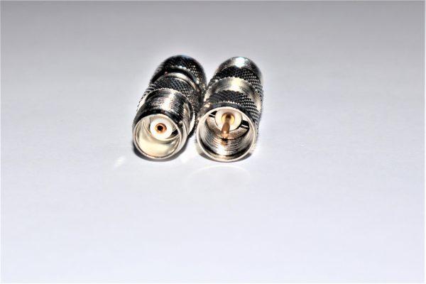 Mini UHF Plug to TNC Jack Adapter