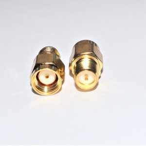 Reverse Polarity SMA Male to RP SMA Female Adapter