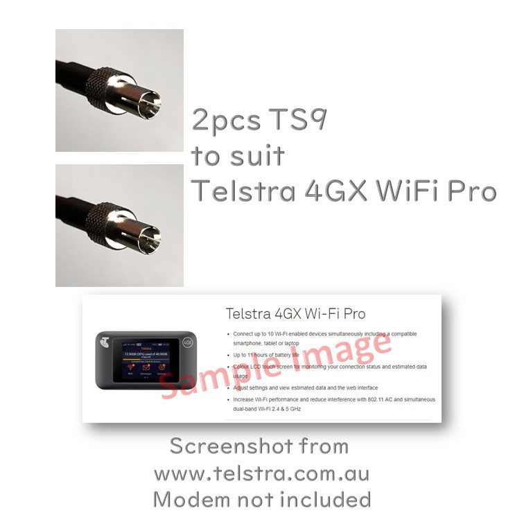 2pcs TS9 to suit Telstra 4GX WiFi Pro