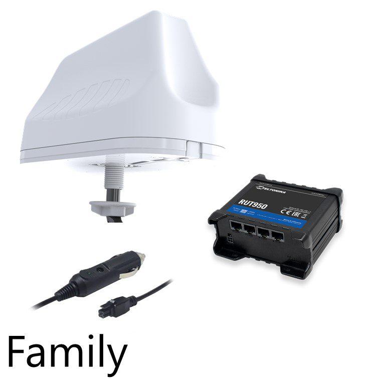 Family 4G Antenna Kit